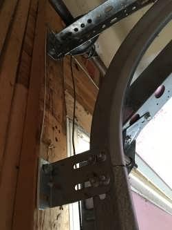 broken cable on garage door