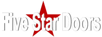 five star door logo